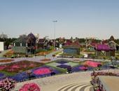 """""""دبى ميراكل جاردن"""" تفوز بجائزة سياحة الحدائق العالمية 2015"""