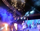 """بالصور.. كريم محسن ومحمد عبدالمنعم وبلال يشعلون حفل الربيع فى """"بتروسبورت"""""""