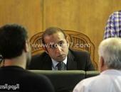 رئيس محكمة بالسويس يأمر بتغريم مواطن 50 جنيها لعدم ارتدائه الكمامة بالقاعة