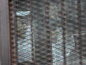 """فى محاكمة 16 متهما بـ""""أحداث استاد الدفاع الجوى"""".. ممثل النيابة يتلو أمر إحالة القضية.. أحد المتهمين يتهم """"الداخلية"""" بتهديده باغتصاب زوجته لإجباره على الاعتراف.. والتأجيل لجلسة 18 مايو للاطلاع"""