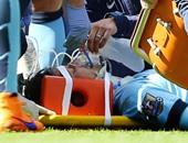 مانشستر سيتى يؤكد عدم تعرض سيلفا لكسر فى الوجه