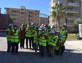 ختام فعاليات أول محكى الحفائر المصغر للأطفال بمتحف السويس