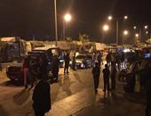 """عناصر الإخوان يقطعون الطريق الدائرى """"المحلة- المنصورة"""""""