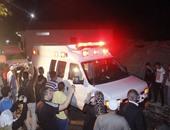 وصول جثمانى ضابطين من شهداء سيناء إلى مستشفى القصاصين العسكرى