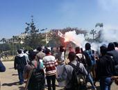 طلاب الجبهة السلفية بالأزهر يدشنون حملة عنف ضد قوات الأمن