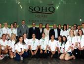 80 لاعب يشاركون فى بطولة سوهو سكوير الدولية للاسكواش