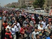 عناصر الإخوان يقطعون طريق محور الكفراوى بالحى الرابع بـ 6 أكتوبر