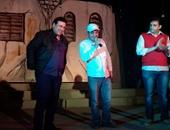 """بالصور.. علاء مرسى يفتتح مسرحيته """"راجعين تانى"""" بحضور إعلاميين ومسئولى الثقافة"""