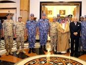 """عاهل البحرين يستقبل الوفد العسكرى المصرى المشارك بمناورات """"حمد1"""""""