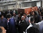 وصول وزير العدل إلى مسجد الحصرى لحضور جنازة المستشار عنانى عبد العزيز