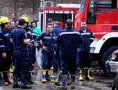 الحماية المدنية تسيطر على حريق محل ملابس أسفل عقار سكنى فى المهندسين