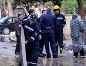 4 سيارات إطفاء تسيطر على حريق شقة سكنية فى العجوزة دون إصابات