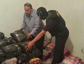 إحباط تهريب 8 أطنان بضائع مستوردة داخل 3 مخازن بحظائر القابوطى فى بورسعيد