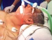 """أول صورة لـ""""هشام طلعت مصطفى"""" فى مستشفى السلام الدولى"""