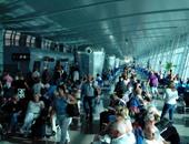 مطار الغردقة الدولى يستقبل 55 رحلة طيران تقل 6 آلاف سائح