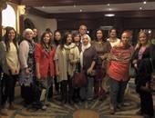 وفد من زوجات السفراء الأجانب فى مصر يزور المعالم الفيوم السياحية