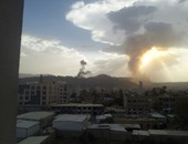مقاتلات التحالف تقصف معسكرى قوات الأمن الخاصة وشرطة النجدة فى صعدة باليمن
