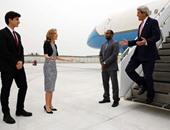 وزير الخارجية الأمريكى يصل مقر رئاسة الوزراء للقاء تيريزا ماى