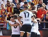 أوريانا يضيف هدف فالنسيا الثانى أمام ريال مدريد فى الدقيقة 9 بالليجا
