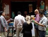 حملة بجنوب الجيزة لمراجعة الاشتراطات الصحية على محال الأغذية
