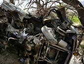إصابة ضابط شرطة بمديرية أمن الوادى الجديد فى انقلاب سيارة بطرق الخارجة أسيوط