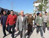 مدير أمن المنيا يطالب الضباط والأفراد بحسن معاملة المواطنين