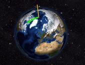 دراسة: القطب الشمالى يتحرك نحو لندن بسبب الاحتباس الحرارى