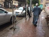 طقس سيئ يضرب محافظة الدقهلية وتساقط الأمطار بعدة مدن