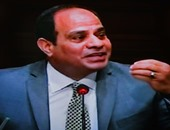 """بالفيديو.. السيسي لـ""""المصريين"""": """"أوعوا الاستقرار والأمن ينسيكم أن التحديات مستمرة"""""""