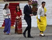بالصور.. الأمير وليام ودوقة كامبريدج فى زيارة لمملكة بوتان