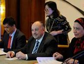 بالصور.. رئيس مجلس أمناء الجامعة المصرية الصينية: القوات المسلحة وفرت لنا الأرض