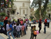 """""""ثقافة الطفل"""" و""""الفنون الجميلة"""" يحتفلان بيوم اليتيم"""