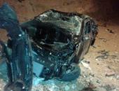 إصابة شخصين فى حادث تصادم بالعاشر من رمضان