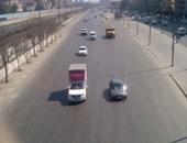 """""""المرور"""" تعزز انتشار الخدمات فى محيط الإغلاق الجزئى لطريق إسكندرية الزراعى"""