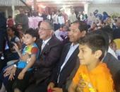 بالصور..محافظ الغربية يشارك فى حفل يوم اليتيم بالجمعية المصرية لتشغيل الشباب