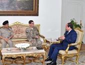 السيسى: تحديات المنطقة تستوجب زيادة التنسيق بين مصر والولايات المتحدة
