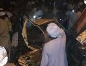 السكة الحديد: رفع أثار حادث قطار أسوان بالكامل مساء اليوم
