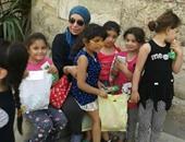 """أمانة شباب """"مستقبل وطن"""" تحتفل بيوم اليتيم فى مقابر باب النصر"""
