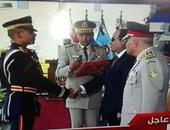 جنازة عسكرية لشهيد سيوة بمسقط رأسه بالمنوفية