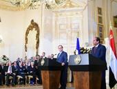 فرانسوا هولاند يحضر مأدبة عشاء فى قصر عابدين بدعوة من الرئيس السيسي
