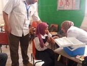 """""""المصرى الدولى"""" يشارك فى التوعية بالتطعيم ضد الحصبة بالاسماعيلية والقنطرة"""