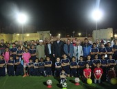 بالصور.. محافظ السويس يشارك باحتفالية مركز شباب المدينة بيوم اليتيم