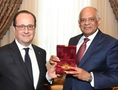 بالصور.. رئيس فرنسا بمجلس النواب: نقدم الدعم الكامل لمصر وجيشها