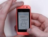 بالفيديو والصور.. أصغر هاتف أندرويد فى العالم بشاشة 2.4 بوصة