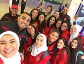 وصول باقى الفرق المشاركة فى البطولة العربية لأندية سيدات الطائرة اليوم