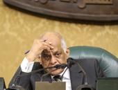 """""""عبد العال"""" يحذف كلمة """"تعارض المصالح"""" من مضبطة جلسة البرلمان"""