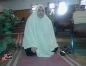 بالصور..سيدة تطلق الزغاريد وتسجد لله بعد فوزها بقرعة الحج بكفر الشيخ