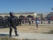 مديرية أمن الإسكندرية تطبع إرشادات وملصقات لتوعية جماهير المنتخب