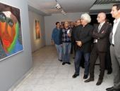 """إيهاب اللبان: معرض """"ناس"""" نقلة فى مسيرة الفنان عبد الوهاب عبد المحسن"""