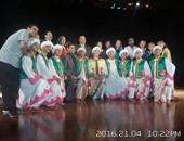 بالصور.. فرقة رضا تقدم عروضها الفنية على مسرح ثقافة الإسماعيلية